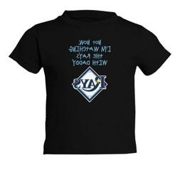 Tampa Bay Rays Watching With Daddy Toddler T-Shirt