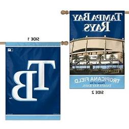 Tampa Bay Rays WC Premium 2-sided 28x40 Banner Outdoor House