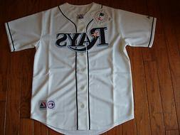 Tampa Bay Rays White Home Jersey w/Tags  Size M