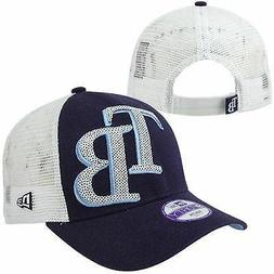 Tampa Bay Rays New Era Women's Sequin Shimmer 9Forty Adjusta