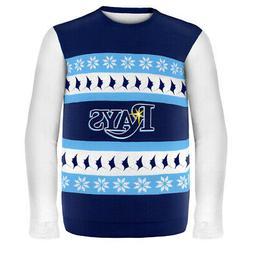 Tampa Bay Rays MLB Ugly Sweater Wordmark