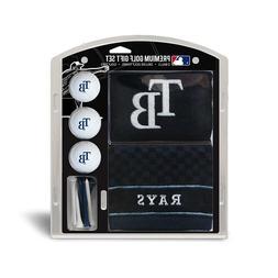 Tampa Bay  Rays Golf Towel, 3 Golf Balls & Tees MLB Gift Set