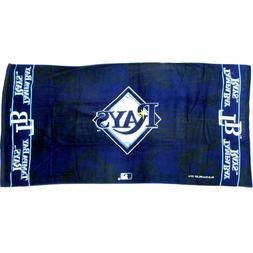 """TAMPA BY RAYS Beach Towel 30"""" x 60"""" - 100% Cotton"""