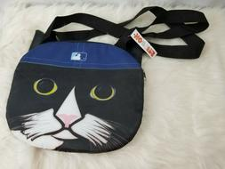Vintage Hooters Tampa Bay Devil Rays Bag Zip Top Cat Purse T